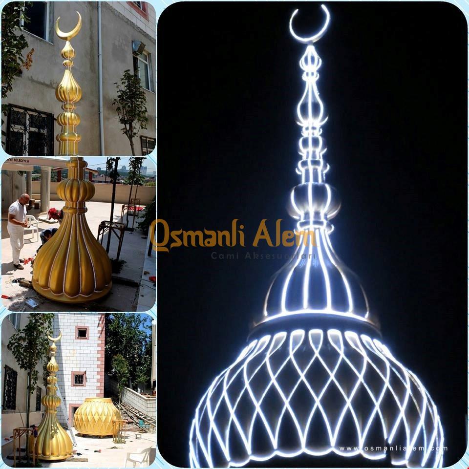 ışıklı minare alemi